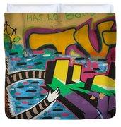 Israel Graffiti #2 Duvet Cover