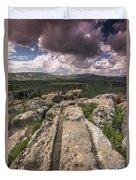 Israel Landscape Duvet Cover