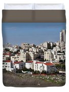 Israel Modiin  Duvet Cover