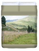 Isskogel Mountain Peak  Duvet Cover