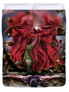 It Is Finished Duvet Cover by Reggie Duffie