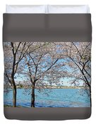 It Must Be Spring In Washington Duvet Cover