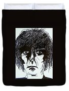 It Takes A Worried Man Duvet Cover by Judith Redman