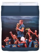 Italia The Blues Duvet Cover