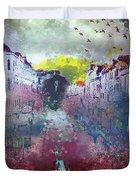 Italian Angel Duvet Cover