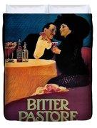 Italian Bitters Ad 1913 Duvet Cover