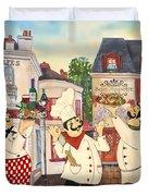 Italian Chefs-jp3042 Duvet Cover