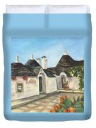 Italian Farmhouses  Duvet Cover