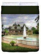 Italian Fountain Maymont  Duvet Cover