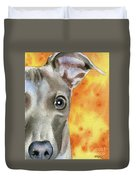 Italian Greyhound Duvet Cover
