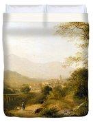 Italian Landscape Duvet Cover