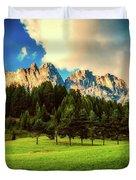 Italian Mountain Meadow Duvet Cover