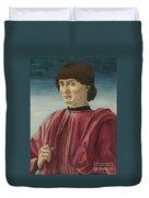 Italian Renaissance Portrait Painter Duvet Cover