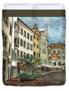 Italian Village 1 Duvet Cover