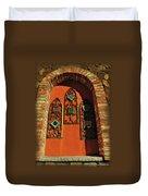 Italian Window Duvet Cover