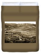 Italy From Above Duvet Cover