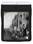Italy: Naples, C1904 Duvet Cover