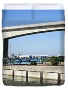 Itchen Bridge Southampton Duvet Cover