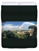 Iter Romam Via Ianiculum Duvet Cover
