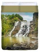 Ithaca Falls Duvet Cover