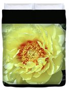 Itoch Peony  Duvet Cover