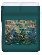 Charming Chasms Series It's A Jungle Duvet Cover