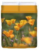 It's A Poppy Thing  Duvet Cover