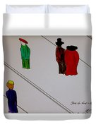 Its A Wonderful Life Duvet Cover
