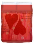 Its All About Love Duvet Cover