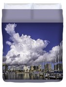 It's All About The Clouds Duvet Cover