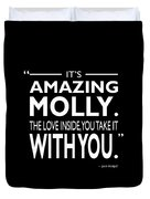 Its Amazing Molly Duvet Cover
