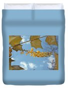 Its Blossoms Time Duvet Cover