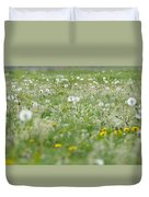 It's Dandelion Time Duvet Cover
