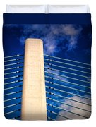 Ivory Tower At Indian River Inlet Duvet Cover
