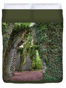 Ivy Clad Ruin Duvet Cover