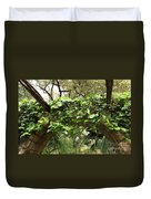 Ivy-covered Arch At The Alamo Duvet Cover