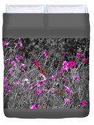 Wild Flowers Duvet Cover