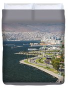 Izmir By The Sea Duvet Cover