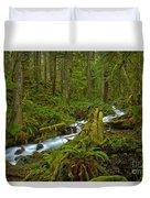Lifeblood Of The Rainforest Duvet Cover
