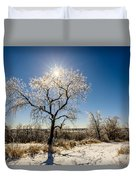 Jack Frost's Last Stand Duvet Cover