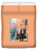 Jack In Venice Duvet Cover