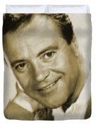 Jack Lemmon, Actor Duvet Cover