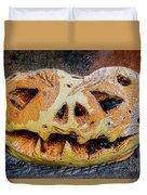 Jack-o-lantern Duvet Cover