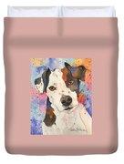Jack Russell Terrier Duvet Cover