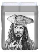 Jack Sparrow Duvet Cover