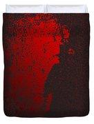 Jack The Ripper In Red Light Duvet Cover