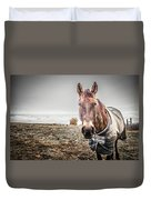 Jacketed Horse Duvet Cover