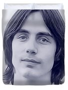 Jackson Browne, Music Legend Duvet Cover
