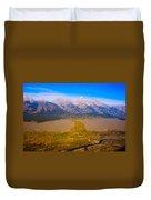 Jackson Hole Wy Tetons National Park Views Duvet Cover