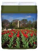 Jackson Park Spring Tulips 2 Duvet Cover
